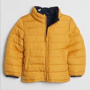 ☃️Gap toddler reversible jacket warm!!❄️